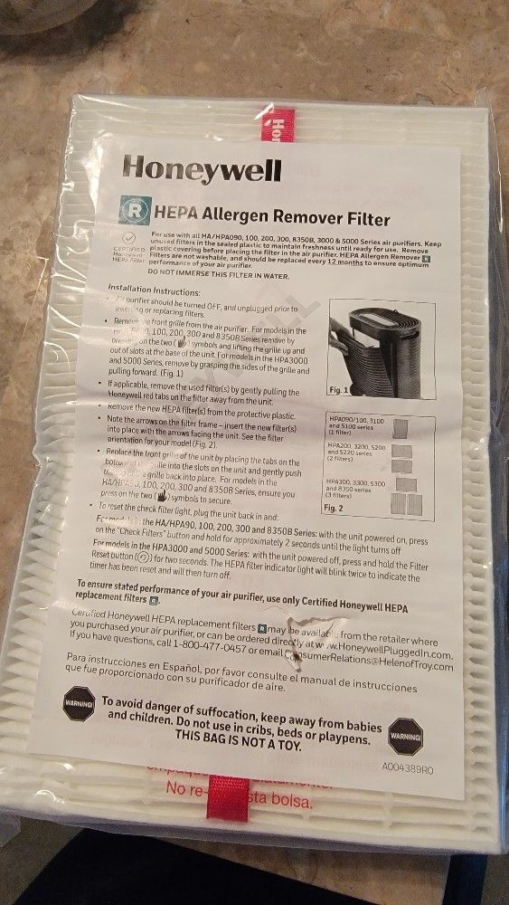 Honeywell True HEPA Replacement Filter R