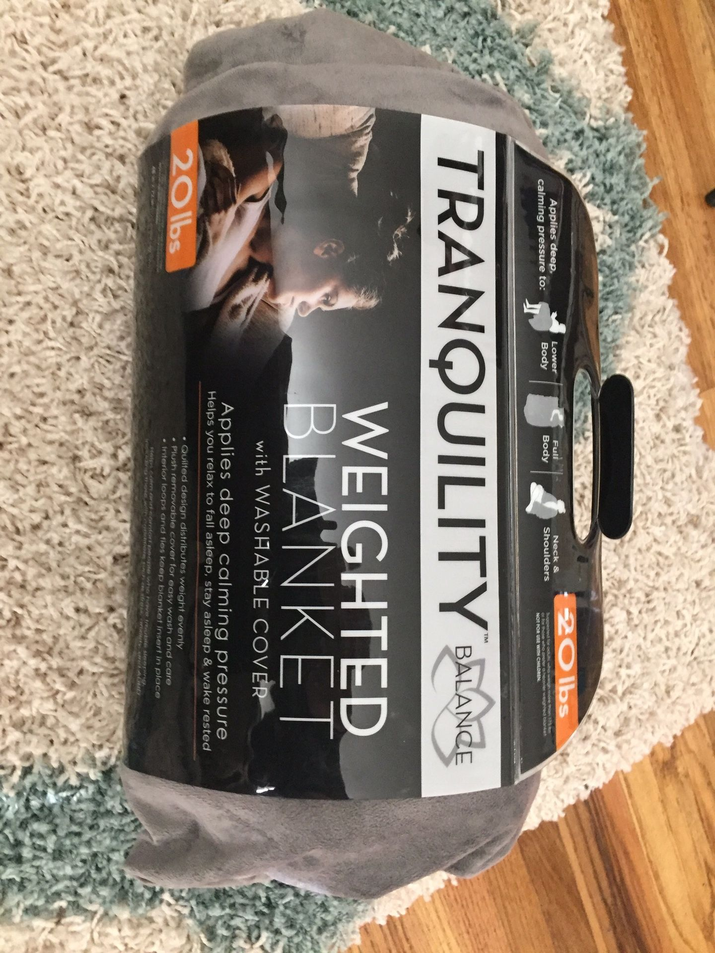 Weighted Blanket - 20lbs - Brand New