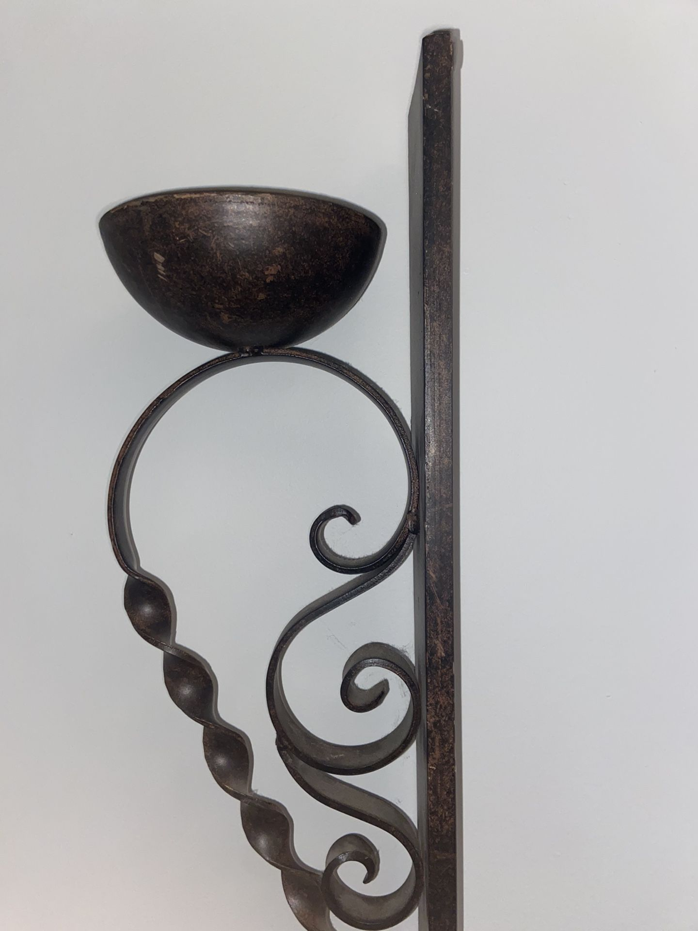 Set of Beautiful designed Wall mounts/ candle holder steel