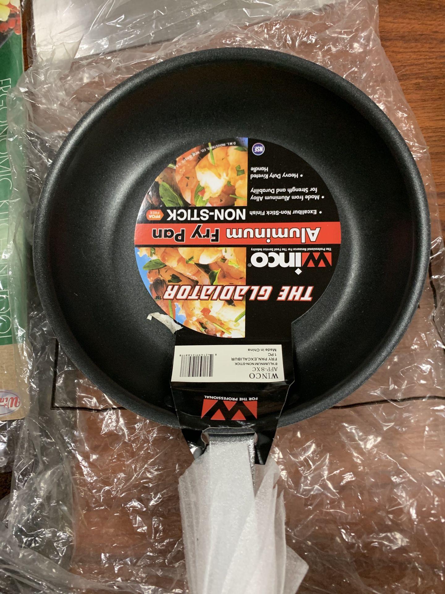 """New 8"""" Non-stick Aluminum Fry Pan"""