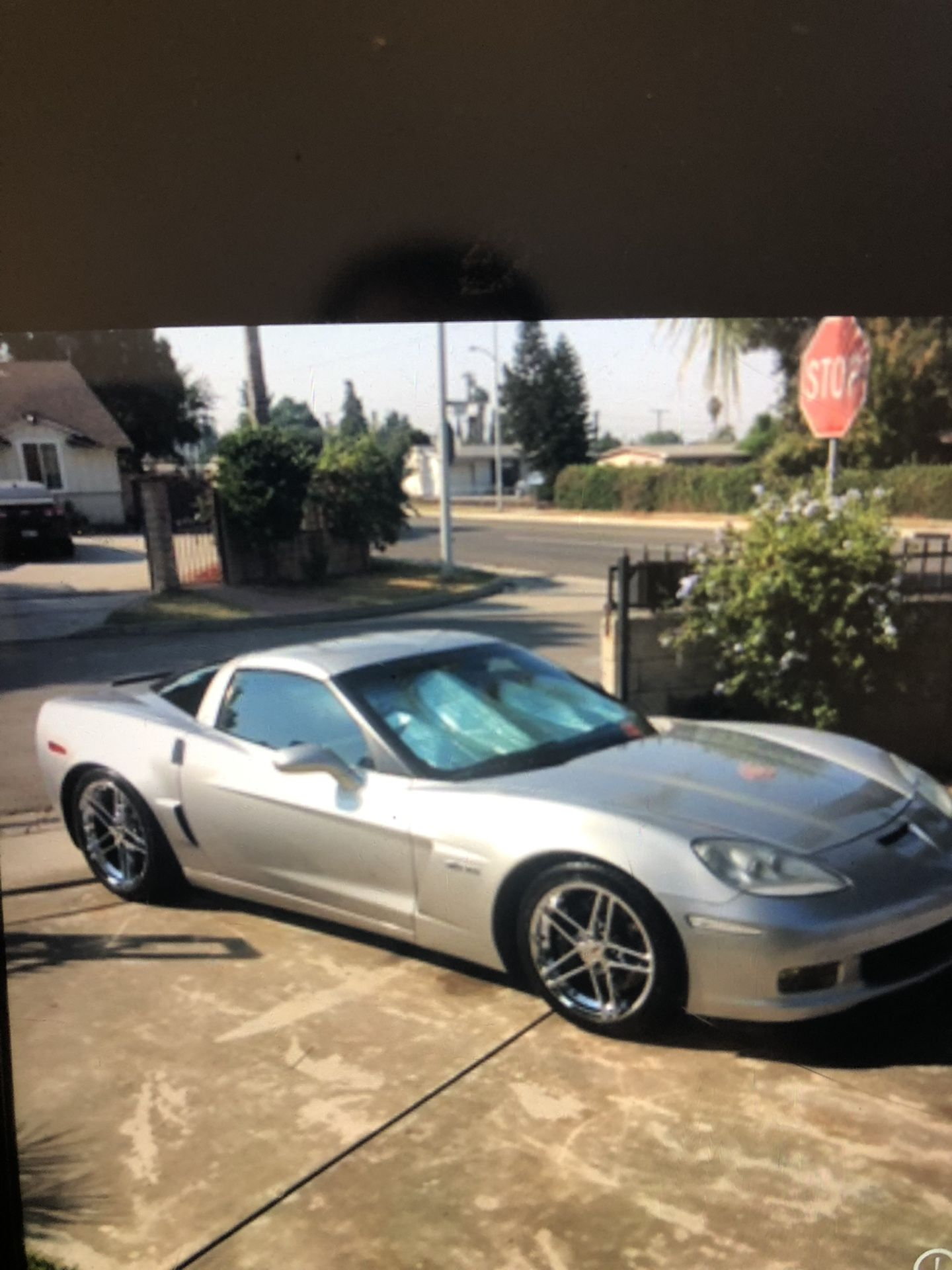 2006 ZO6 Corvette 427 17,171  Miles On New Engine Chevy 6 Speed Manual  For Sale $35,000