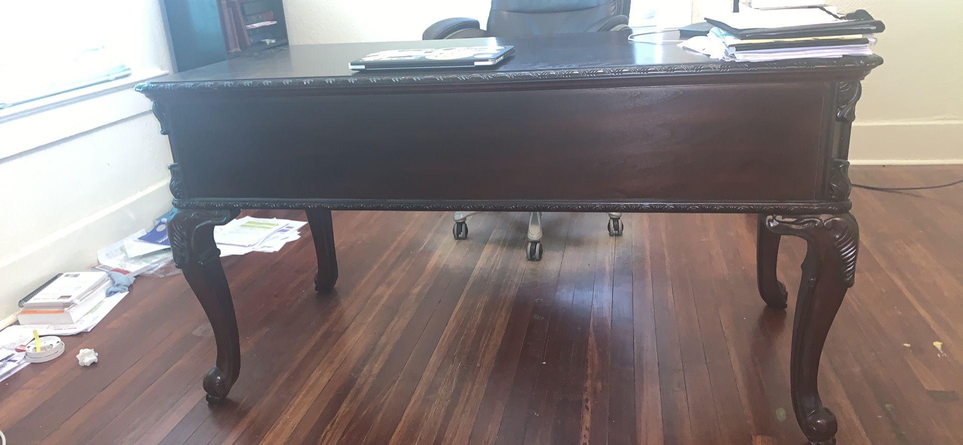 Alexandrian Style Executive Desk