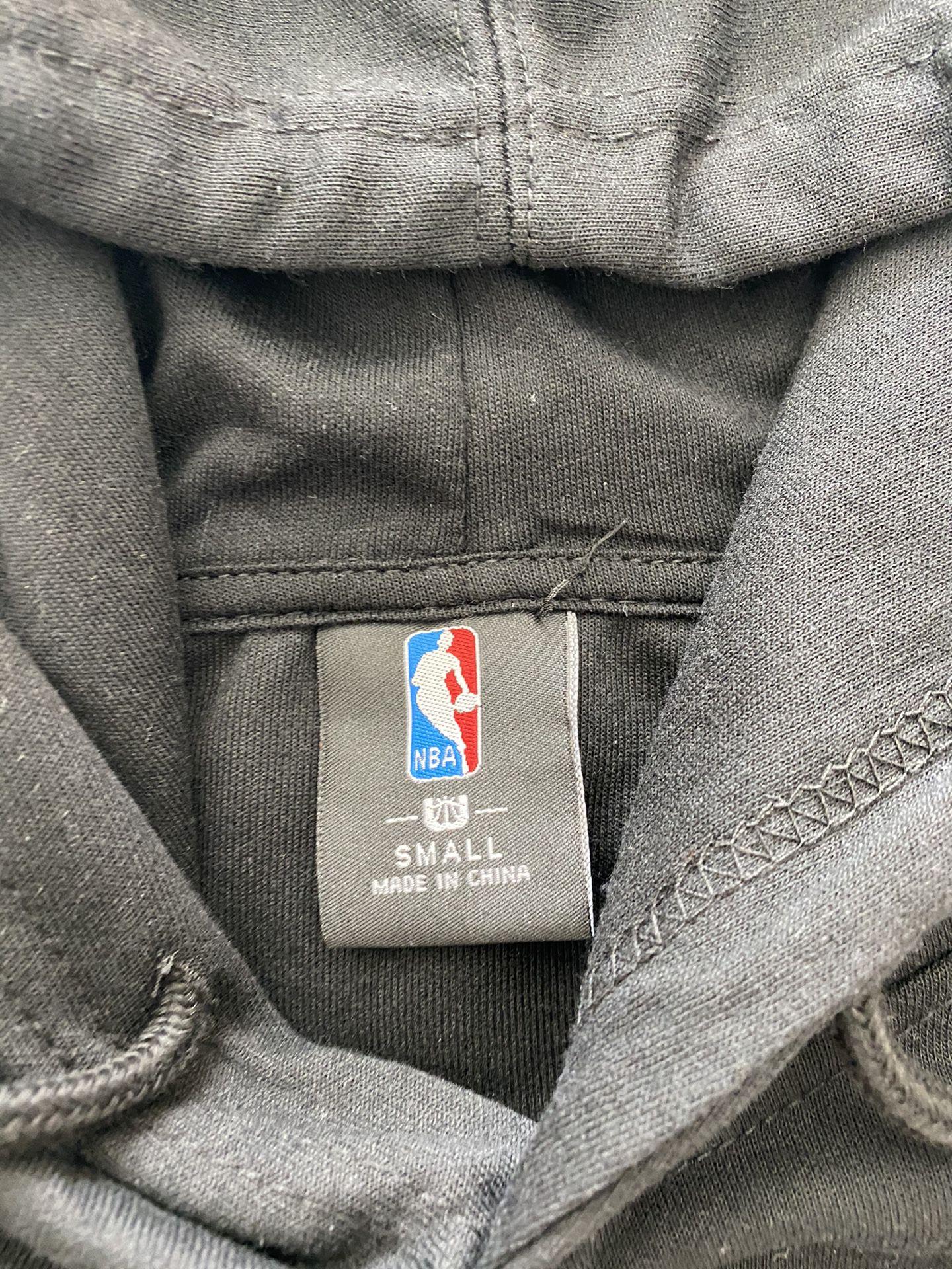 Los Angeles Lakers NBA Men's Hoodie Sweater Black Purple Size Small
