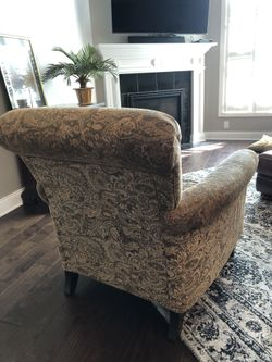 2 Upholstered Arm Chairs Thumbnail