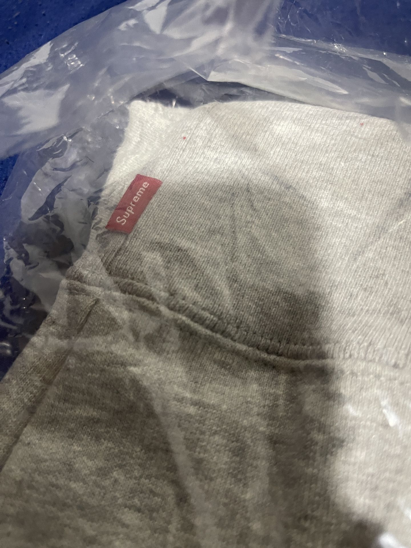 Supreme Contrast Hooded Sweater