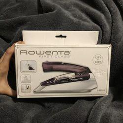 NEW Rowenta Travel, Double Voltage Steam Iron Thumbnail