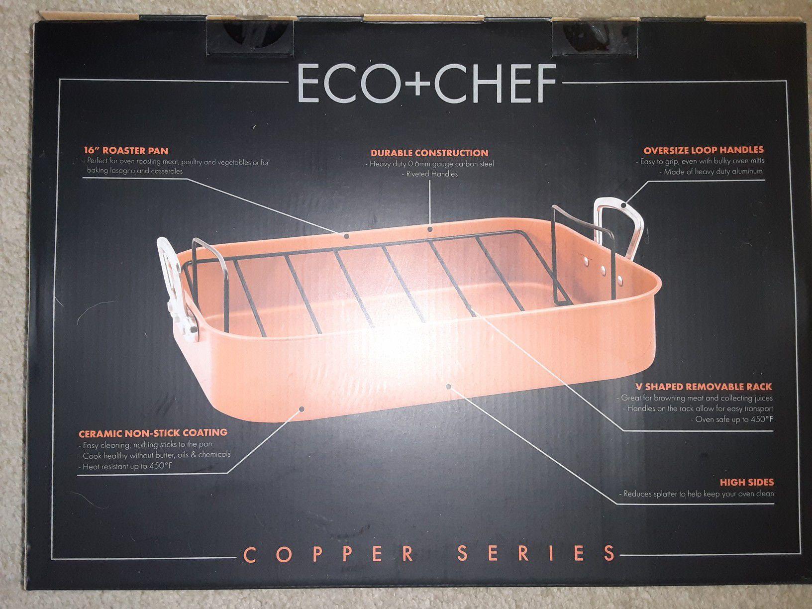 """Eco+Chef 16"""" Roaster Pan"""