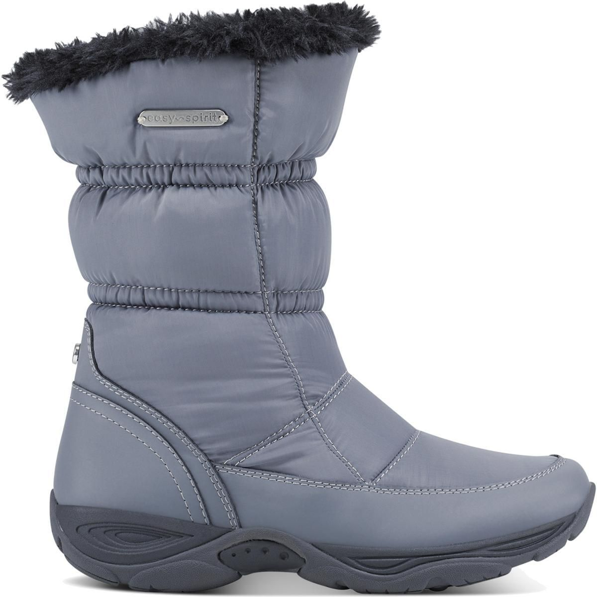 Easy Spirit Womens Winter Boots Gray Size 9.5 Medium (B,M)