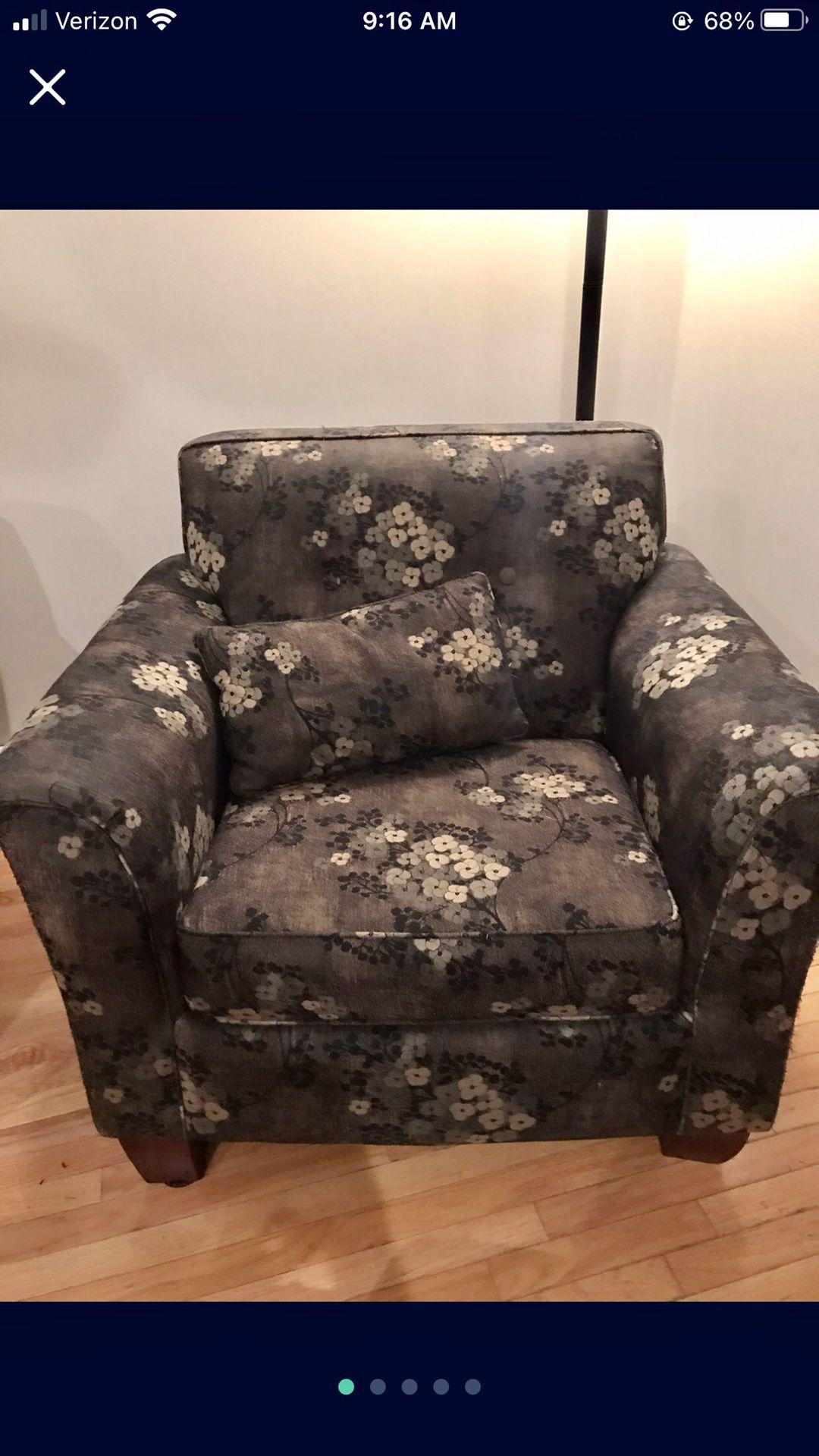 Living Room Chair Custom Designed