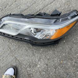 2013 Acura TL Driver Headlight  Thumbnail