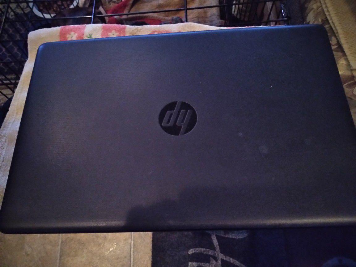 New hp laptop