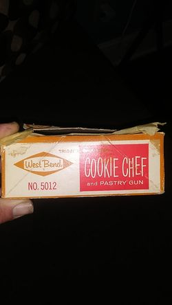 Cookie chef And Pastry gun Thumbnail