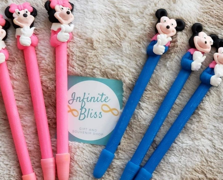 Mickey And Minnie Mouse Clay Pen (6 Pcs)