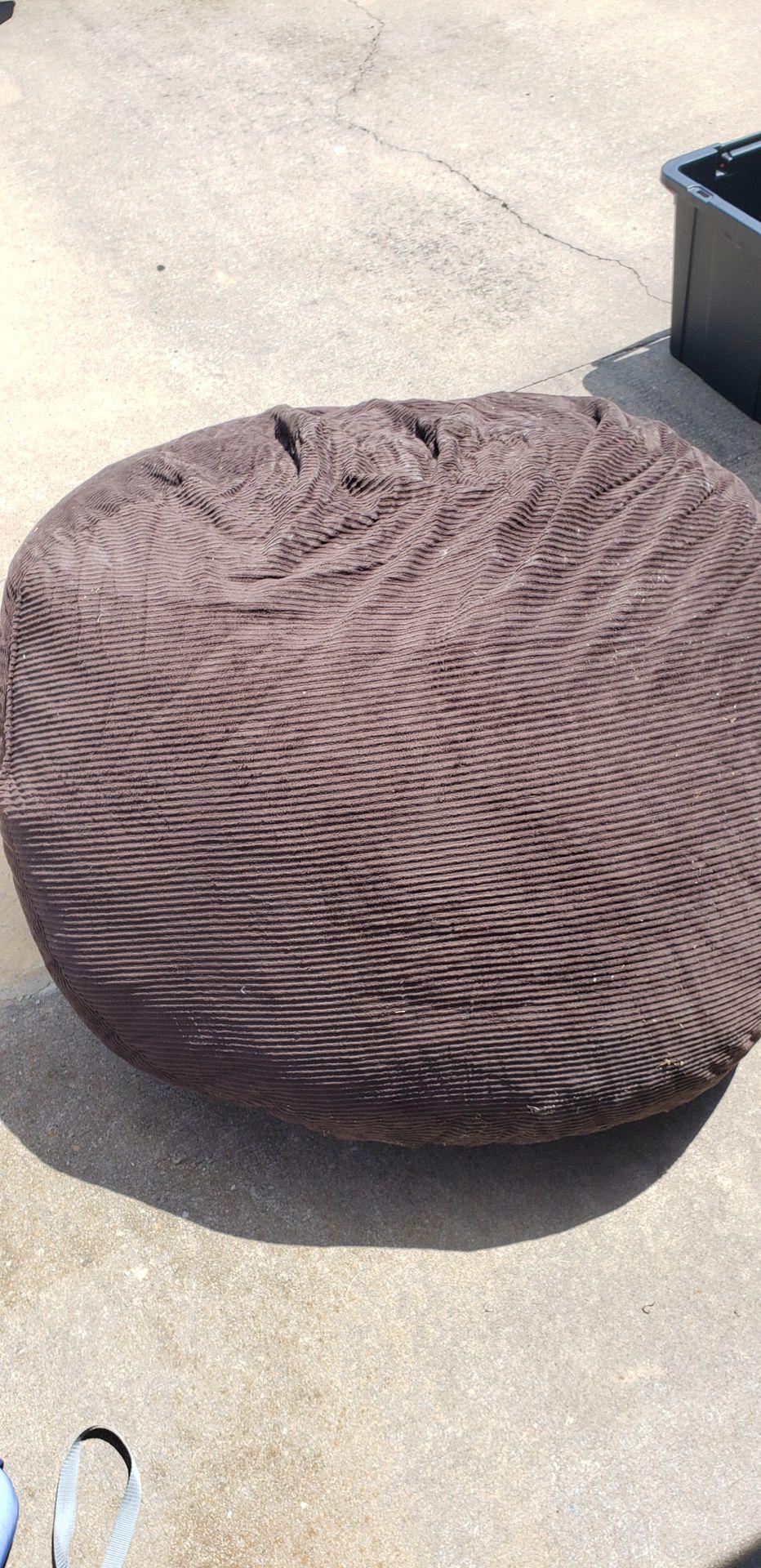 Brown Beanbag Chair