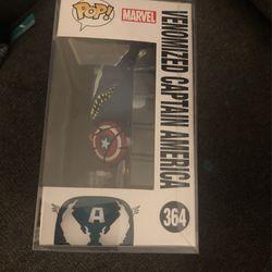 Funko Pop #364 Venomized Captain America Thumbnail