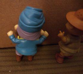 Rugrats PVC Toy Figure Lot 1998 Phil Safari  Tommy Mattel Thumbnail