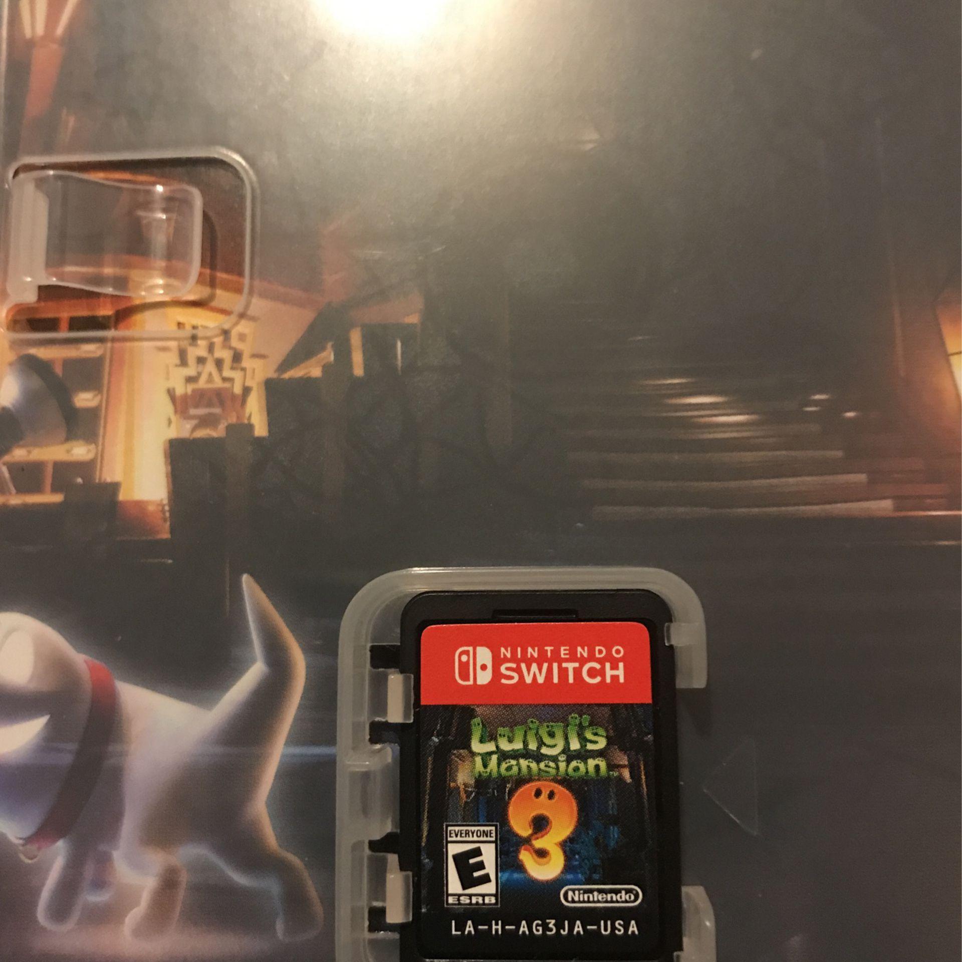 Nintendo Switch Luigis Mansion 3