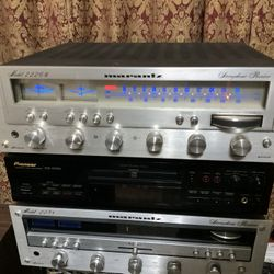Vintage Marantz 2226B Stereo Receiver Audiophile  Thumbnail