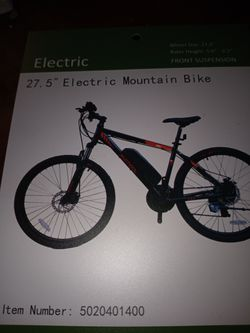 Electric Bicycle Thumbnail