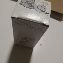 Noodles ink black 3oz for fountain pen brand new unopen Thumbnail