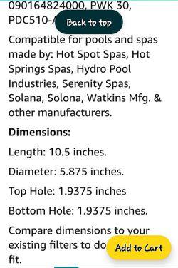 Hot Tub Filters 3pk Thumbnail