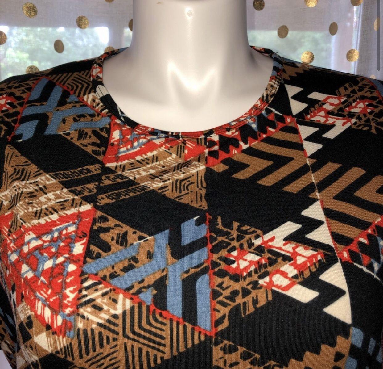 NWT LuLaRoe Irma Size XXS Shirt