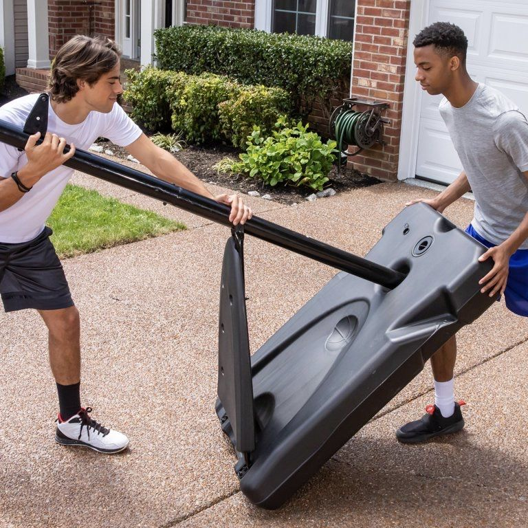 """Official WNBA 50"""" Portable Basketball Hoop with Polycarbonate Backboard"""