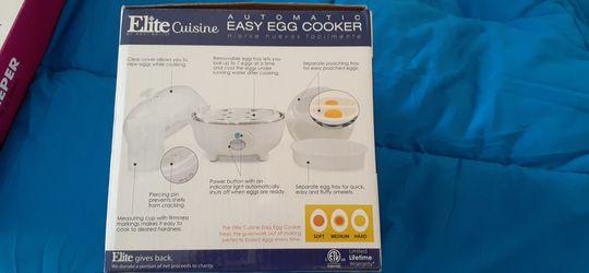 Elite cuisine Egg cooker Thumbnail