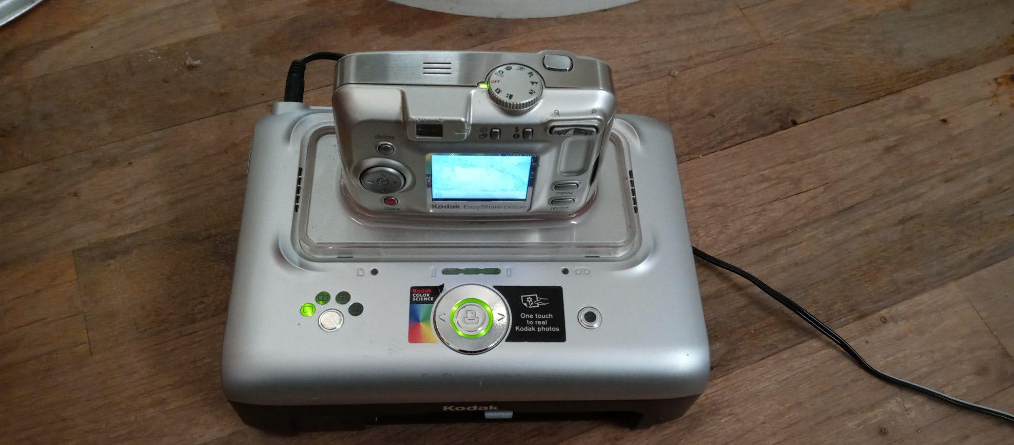 Kodak easy share digital camera and printing dock