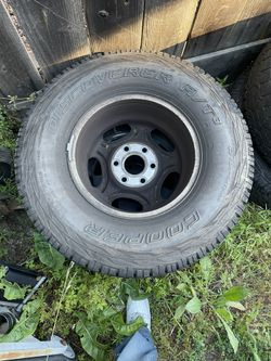Selling Tires And Rims, Lmk 400 For The Set Of 4, Need It Gone ASAP! Wheels Were Once On A Chevy Silverado 1500 Thumbnail
