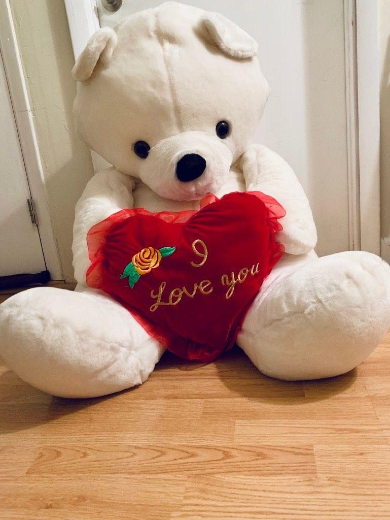 Giant I Love You Bear