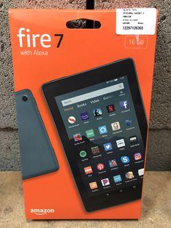 "Amazon - Fire - 7"" - Tablet - 8GB 7th Generation, 2017 Thumbnail"