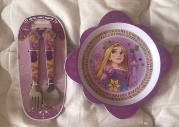 Rapunzel kids dish set new Thumbnail