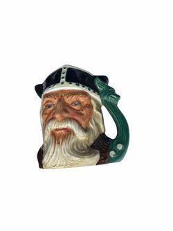 Royal Doulton Small Toby Mug Viking #D6502  Thumbnail