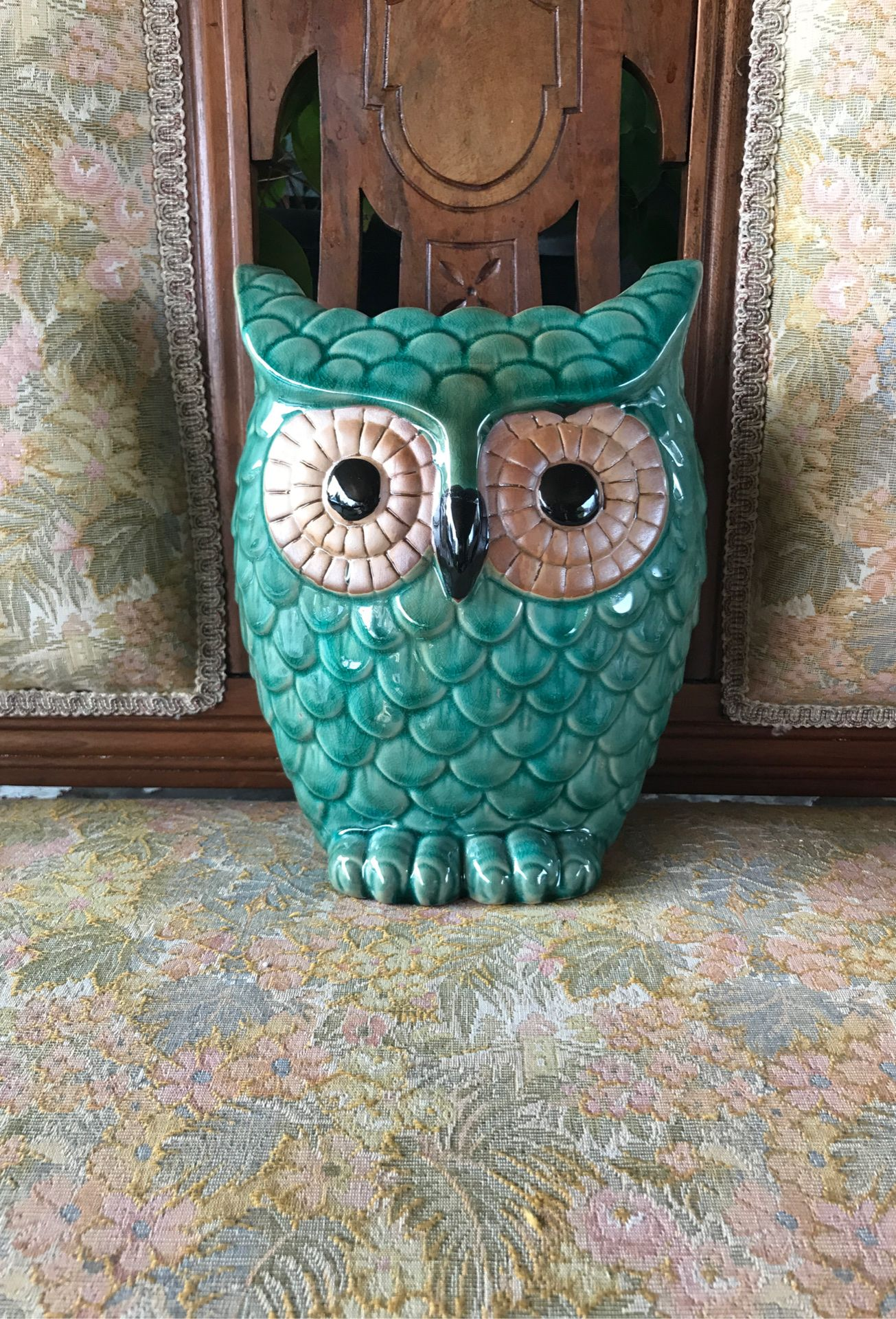Decorative Owl Vase