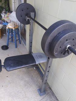 Bench press &weight Thumbnail