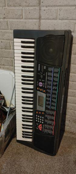 Casio Keyboard, No Charger Thumbnail