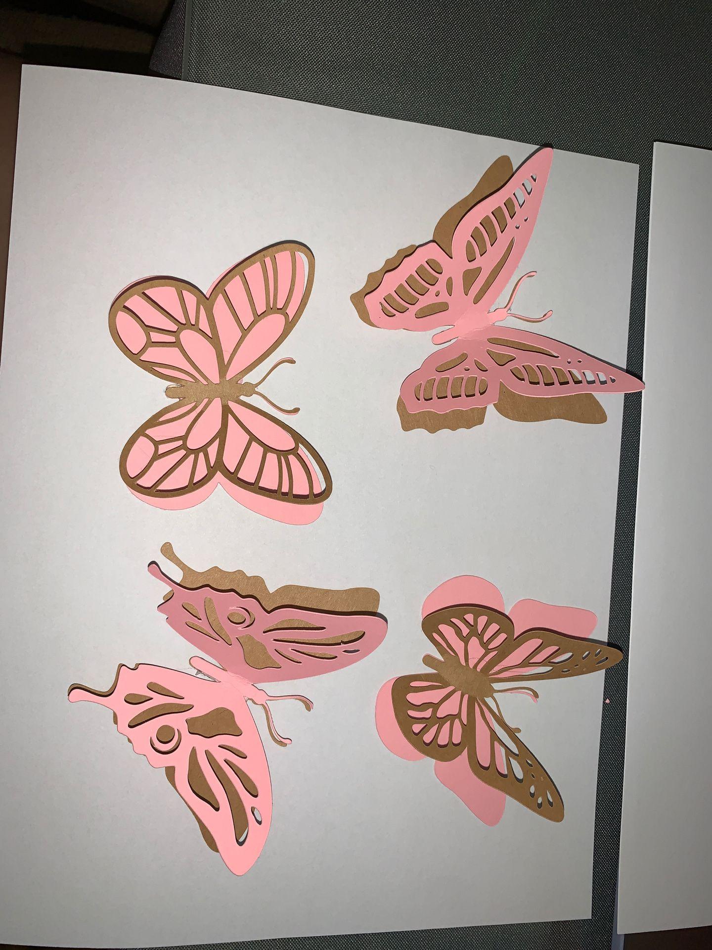 Butterfly String Garland