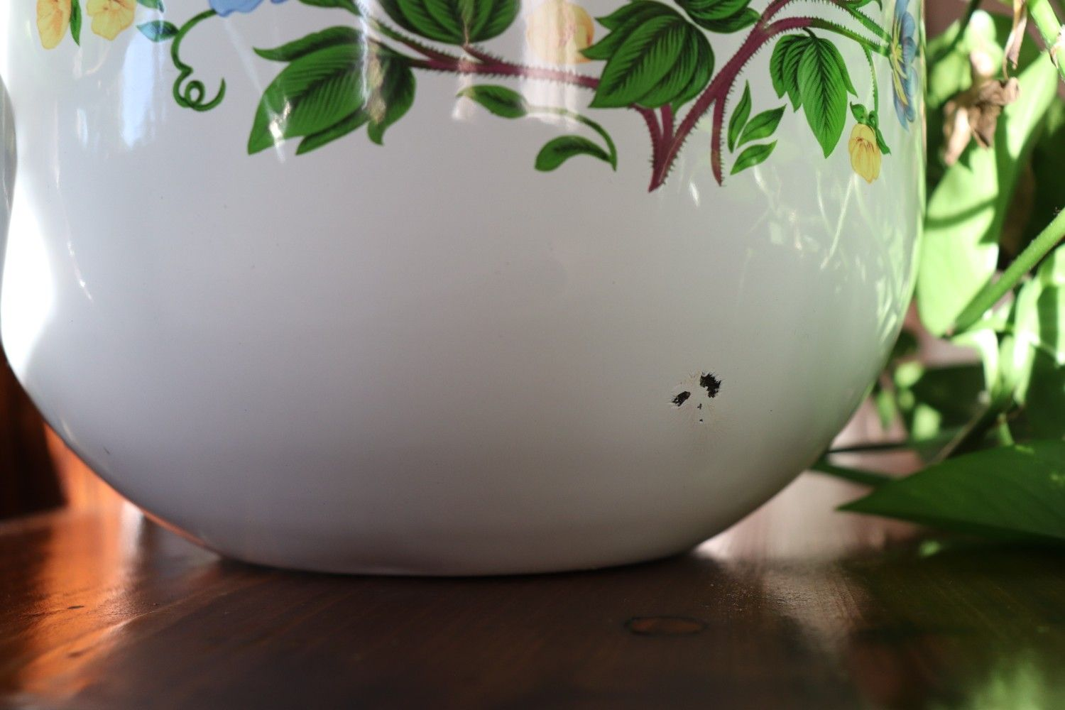 JCPenny Floral Mixing Bowl Planter