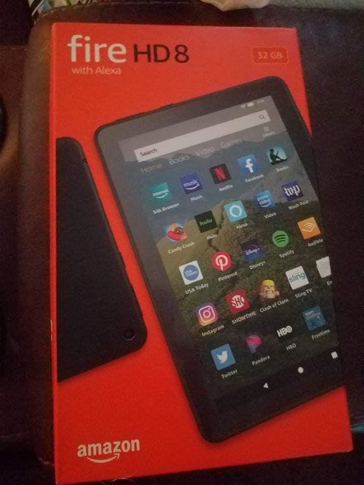 Amazon Fire Tablet With Alexa