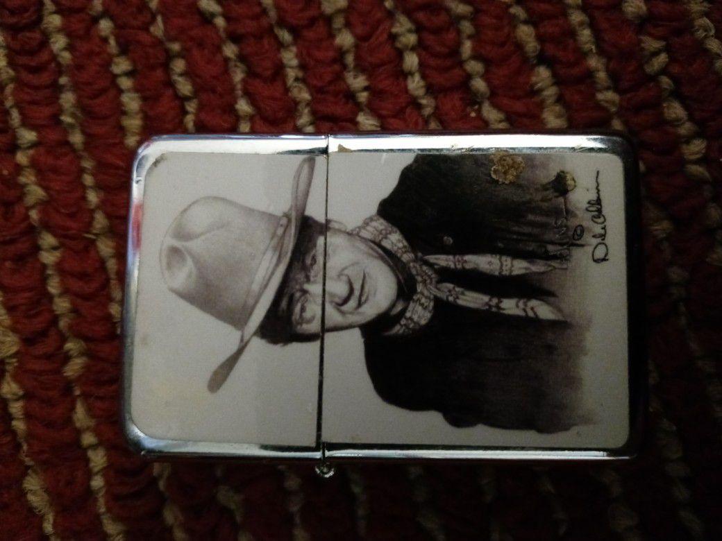 John Wayne lighter new never used