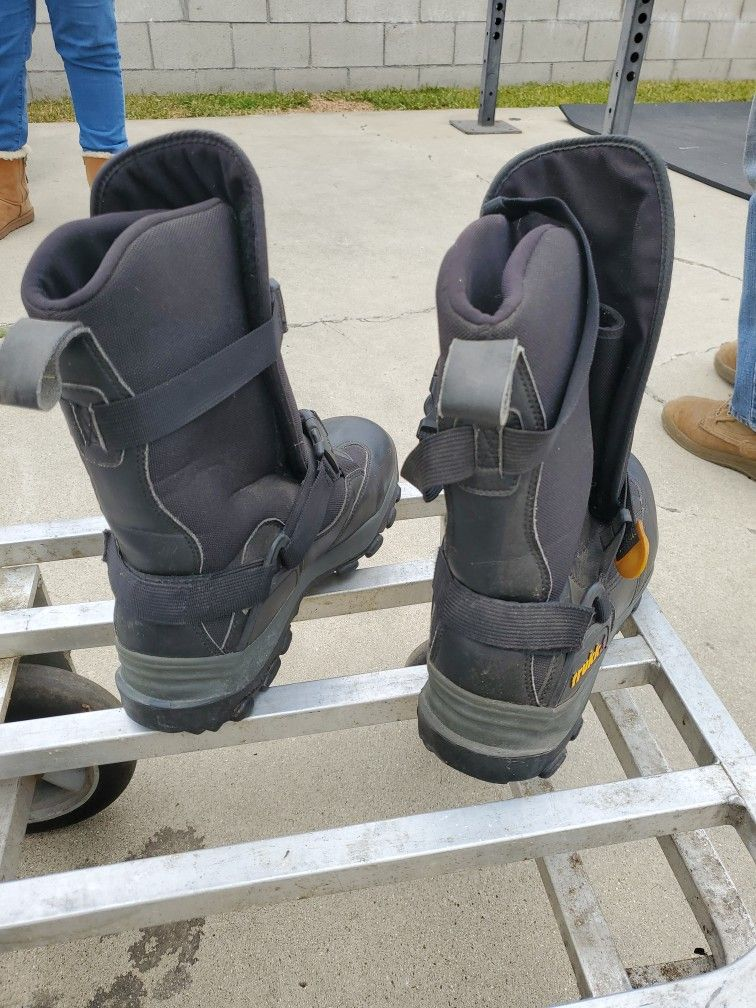 Snowmobile Boots Size 10