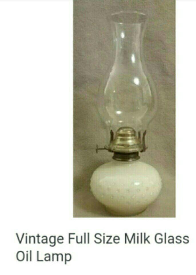Vintage Oil Lamp Full Size