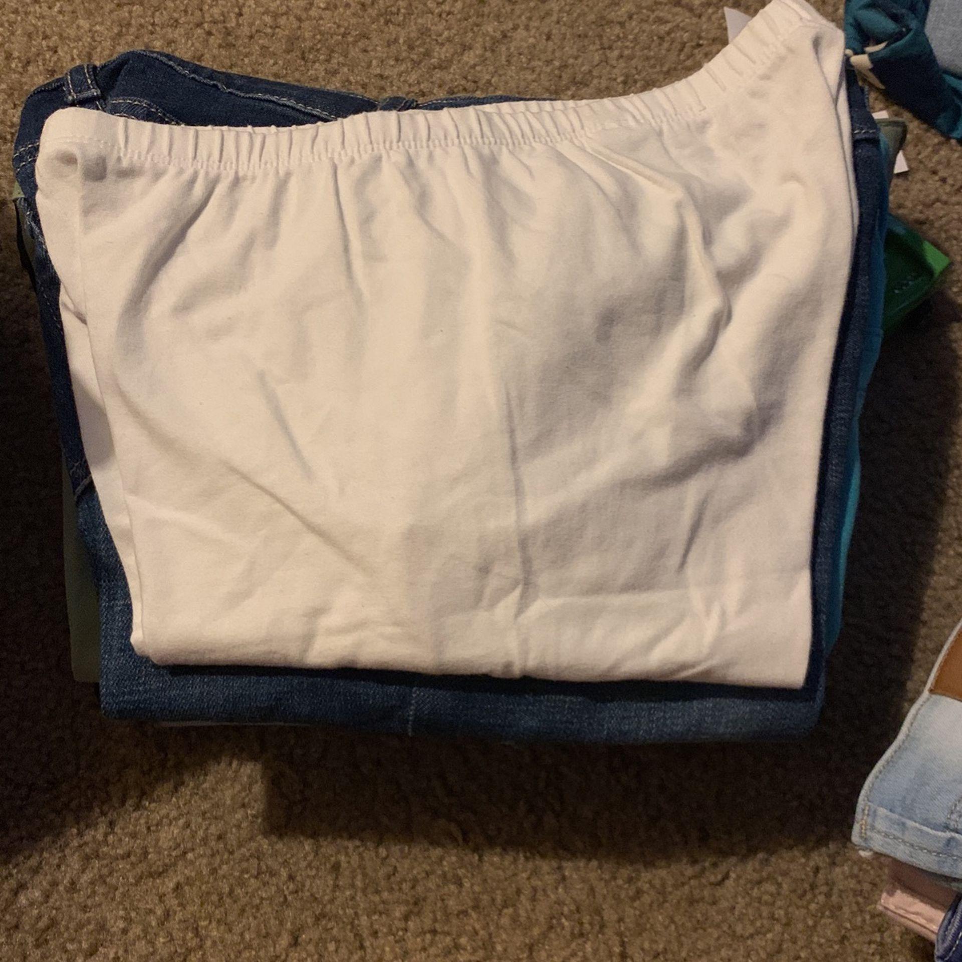 Girls Long Shorts 10/12