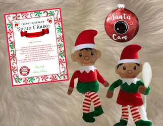 Customized Christmas Elf, Santa Cam and Letter from Santa Thumbnail