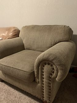 Oversized Arm Chair  Thumbnail