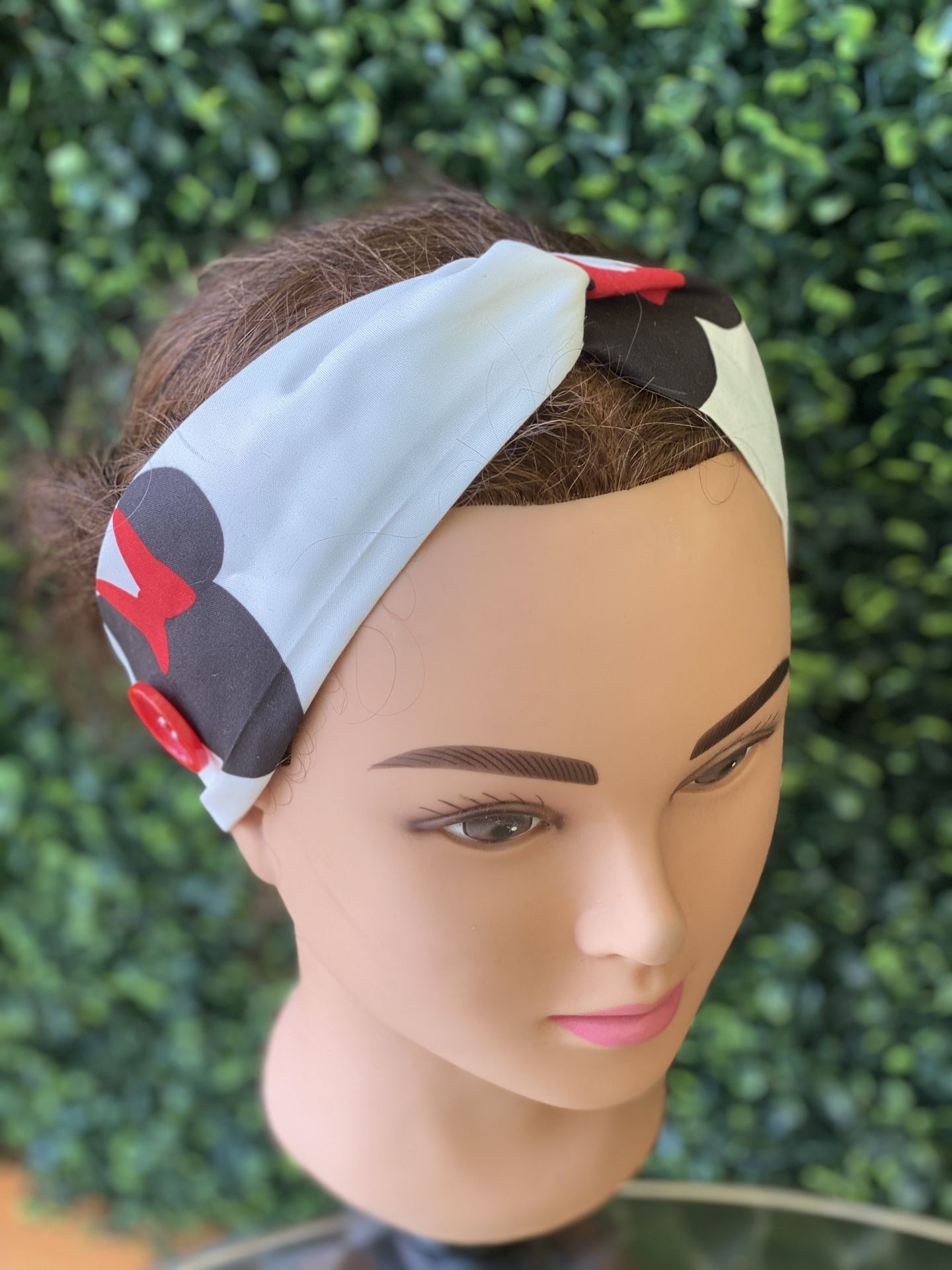 Minnie Mouse ear saver headband