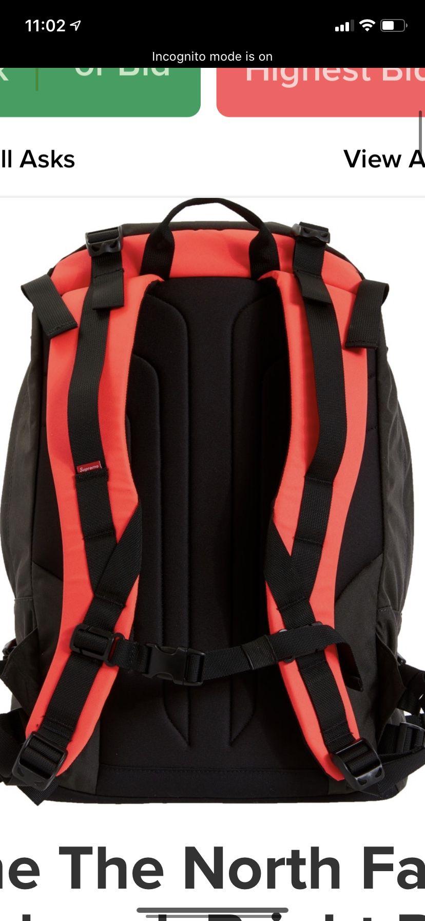 Supreme x Northface backpack