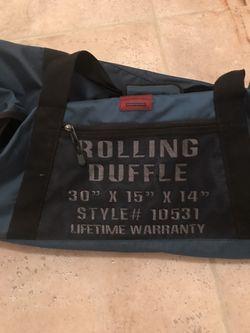 Duffle roll on big bag Thumbnail