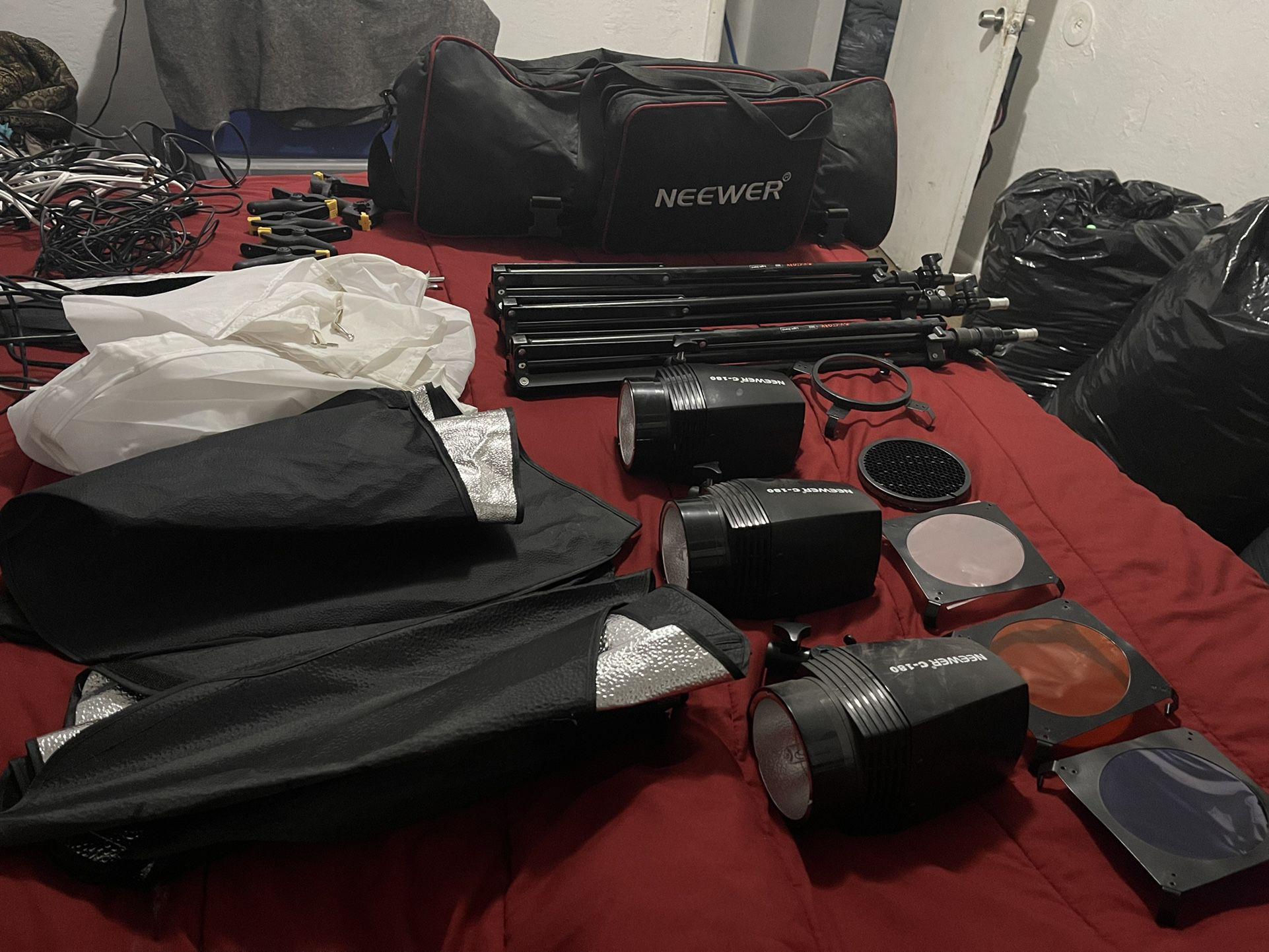 Studio Photo equipment lighting